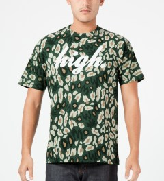Odd Future Multi High Camo T-Shirt Model Picture