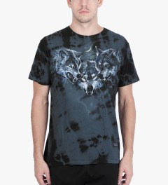 Raised by Wolves Black Wolfpack T-Shirt Model Picutre