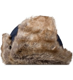 Penfield Navy Providence Trapper Hats Model Picture
