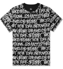 Stussy Black Cities T-Shirt Picutre