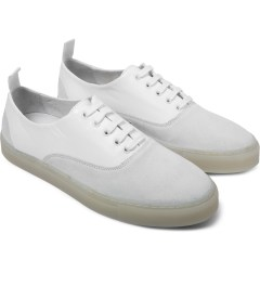 SILENT Damir Doma White Falcata Shoes Model Picture