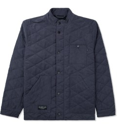 The Quiet Life Blue 3 Pocket Quilted Jacket Picture