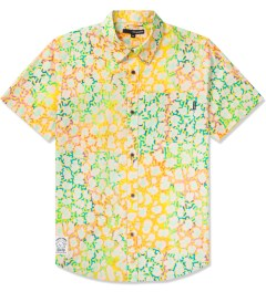 The Quiet Life Yellow/Orange The Camp Counselor Button Up Shirt Picture