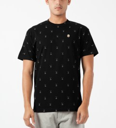 Odd Future Black Earl Chum All-over T-Shirt Model Picture