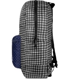 Herschel Supply Co. Houndstooth/Navy Polka Dot Packable Daypack Model Picture