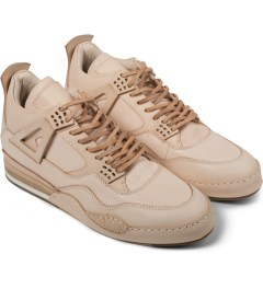 Hender Scheme Natural Air Jordan IV Sneakers Model Picutre