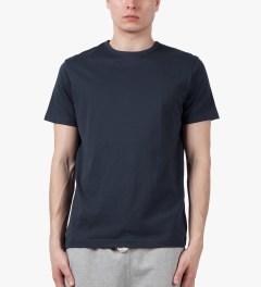SUNSPEL Navy S/S Crewneck T-Shirt Model Picutre