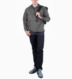 Mark McNairy for Heather Grey Wall Grey AK47 Pullover Jacket Model Picture
