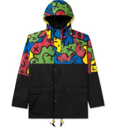 Lazy Oaf Multi/Black Oafetti Mac Jacket Picutre
