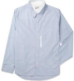 P.A.M. White Codes Striped Shirt Picture