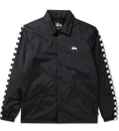 Stussy Black 50/50 Coaches Jacket Picutre