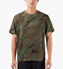 maharishi Camo Camouflage Slouch T-Shirt Model Picture