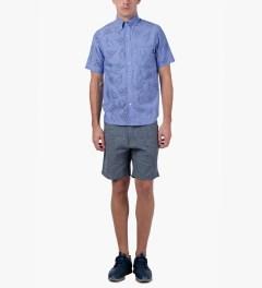 Primitive Blue HLFU S/S Woven Shirt Model Picture