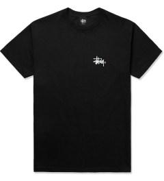 Stussy Black Basic Logo T-Shirt Picture