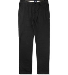 Stussy Black Washed Chino Pants III Picutre
