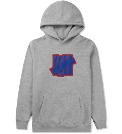 Undefeated Heather Grey Double 5 Strike Hoodie Picture