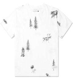 Raised by Wolves White Trap Life T-Shirt Picture