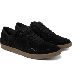 HUF Black/Gum Hufnagel 2 Shoes Model Picture