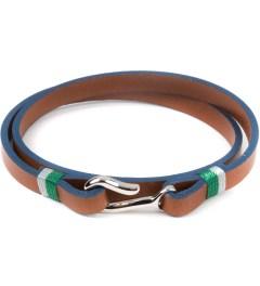 Miansai Brown Foksol Silver Bracelet Picutre