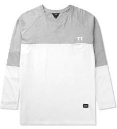 Thing Thing Grey Marl/Black/White The Domi L/S T-Shirt Picture