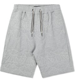 LAPSE Grey Melange Mirage Sweatshorts Picutre