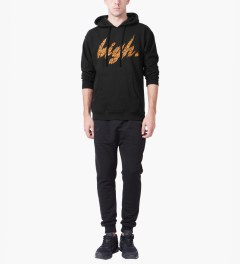 Odd Future Black High Animal Style Pullover Hoodie Model Picutre