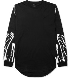 Stampd Black Glass Allover Print L/S T-Shirt Picutre
