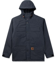 Carhartt WORK IN PROGRESS Jet/White Polka Dot Mosley Jacket Picutre