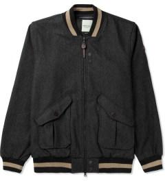 Marshall Artist Charcoal Vintage Harrington Jacket Picutre