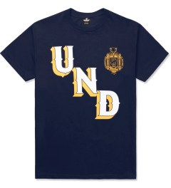 Undefeated Navy UNDFTD Crest T-Shirt Picture
