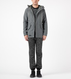 The Quiet Life Black/Grey Rope Jogger Pants Model Picture