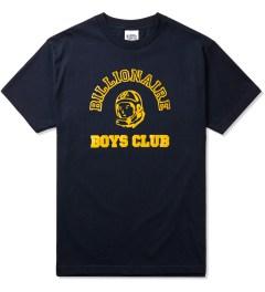 Billionaire Boys Club Navy Billionaire College Pop T-Shirt Picture