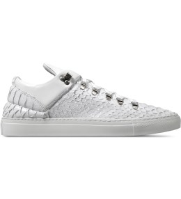 Filling Pieces White Mountain Cut Python Shoes Picture