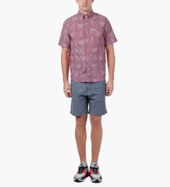 Primitive Red HLFU S/S Woven Shirt Model Picture