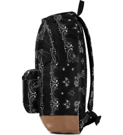 Undefeated Black Bandana Backpack Model Picutre