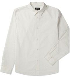 A.P.C. Ecru Chemise Casual Shirt Picture