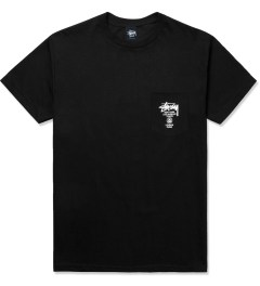 Stussy Black World Tour S/S Pocket T-Shirt Picture