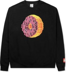 Odd Future Black OF Donut Crewneck Sweater Picture