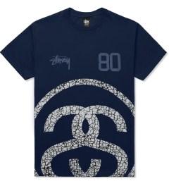 Stussy Navy Elephant Link T-Shirt Picutre