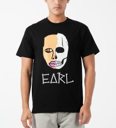 Odd Future Black Earl Sweatskull T-Shirt Model Picture