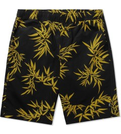 HUF Black/Gold Bamboo Easy Shorts Picutre