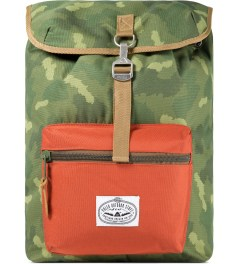 Poler Camo/Orange Field Pack Backpack Picutre