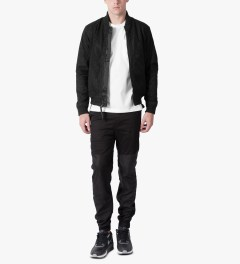 Publish Black Millo Jacket Model Picture