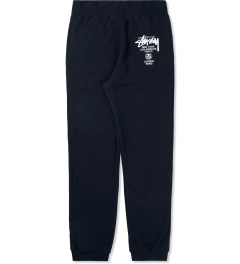 Stussy Navy World Tour Sweatpants Picture