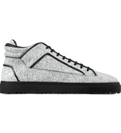 ETQ White Marbleized Mid Top 2 Shoes Picutre