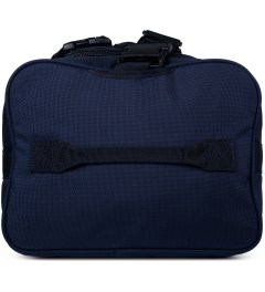 DSPTCH Navy Weekender Duffle Bag Model Picture