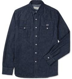 Maison Kitsune Raw Western Shirt Picture