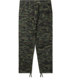 Carhartt WORK IN PROGRESS Camo Dark Island Regular Cargo Pants Picutre