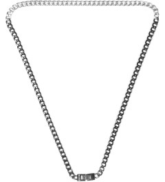 Mister Black/Silver Dual Tone Necklace Picture