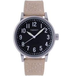TSOVET Stainless/Black w/ White JPT-TF40 Watch Picture